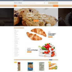 asian grocery store virtuemart template 51919