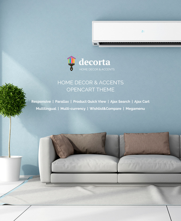 Home Decor Responsive OpenCart Template New Screenshots BIG