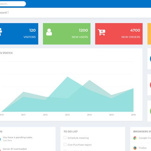 Mercy - Admin Dashboard Template