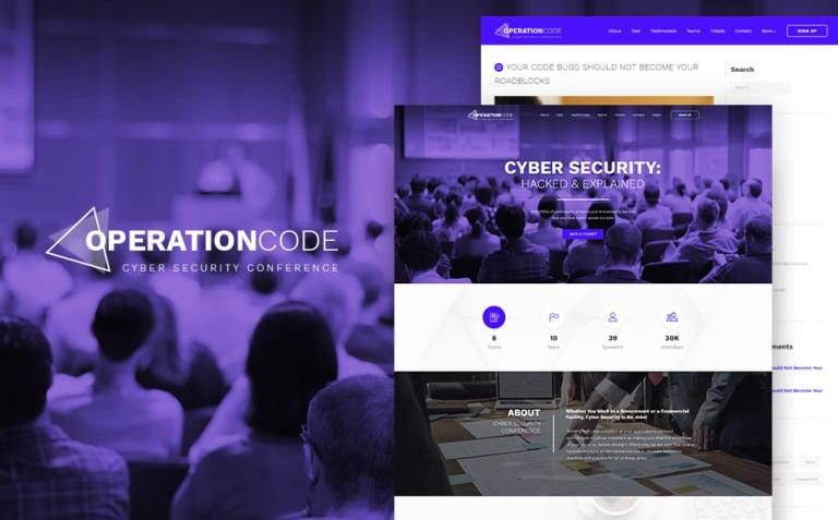 OperationCode WordPress Theme New Screenshots BIG