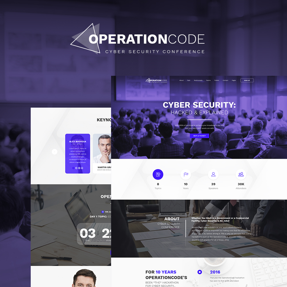 OperationCode WordPress Theme