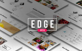 """PowerPoint Vorlage namens """"Edge"""""""