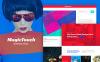 Reszponzív WordPress sablon New Screenshots BIG