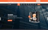 Шаблон сайту на тему реєстор доменів