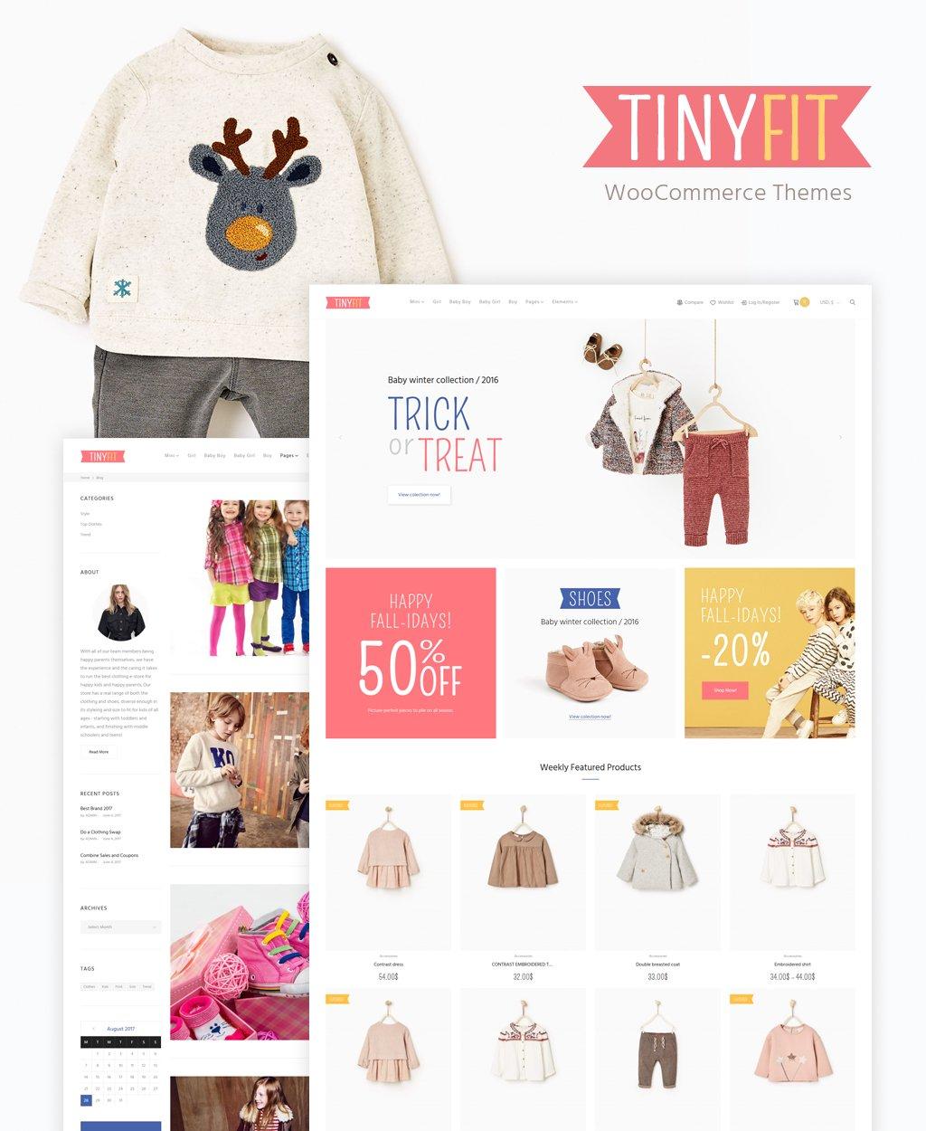 TinyFit WooCommerce Theme WooCommerce Theme - screenshot