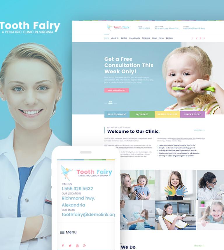 Pediatric clinic wp theme tooth fairy pediatric dentistry wordpress theme new screenshots big altavistaventures Image collections