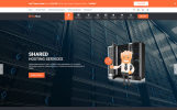Website template over Domain Registrar