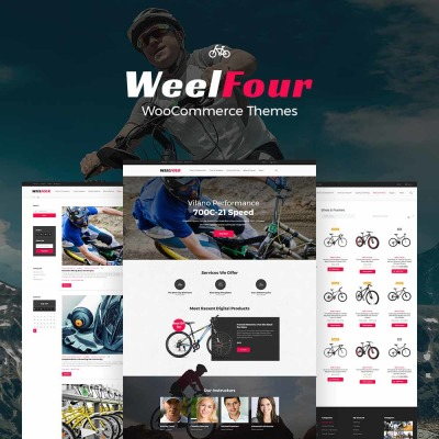WeelFour - Bike Store Responsive