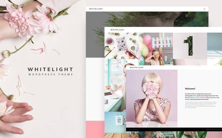 WhiteLight - professional photographer portfolio WordPress Theme New Screenshots BIG