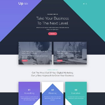 Preview image of Business Joomla Template No. 64104
