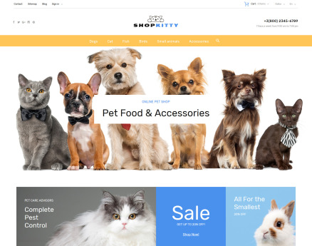 ShopKitty PrestaShop Theme