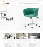 Интерьер и мебель. Шаблон сайта 64129