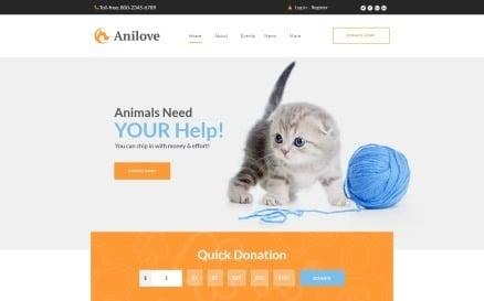 Anilove WordPress Theme