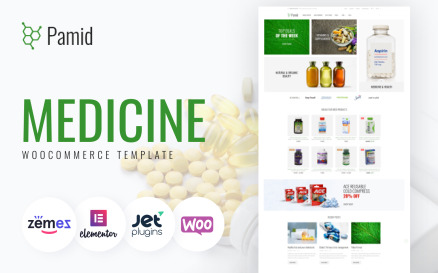 Pamid - Drug Store Responsive WooCommerce Theme
