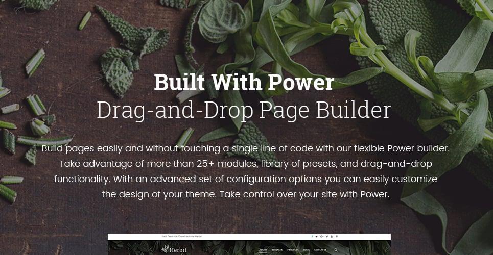 Herbit WordPress Theme