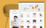Responsivt WooCommerce-tema för ommöblering i hemmet