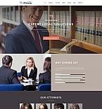 Юриспруденция и закон. Шаблон сайта 64178