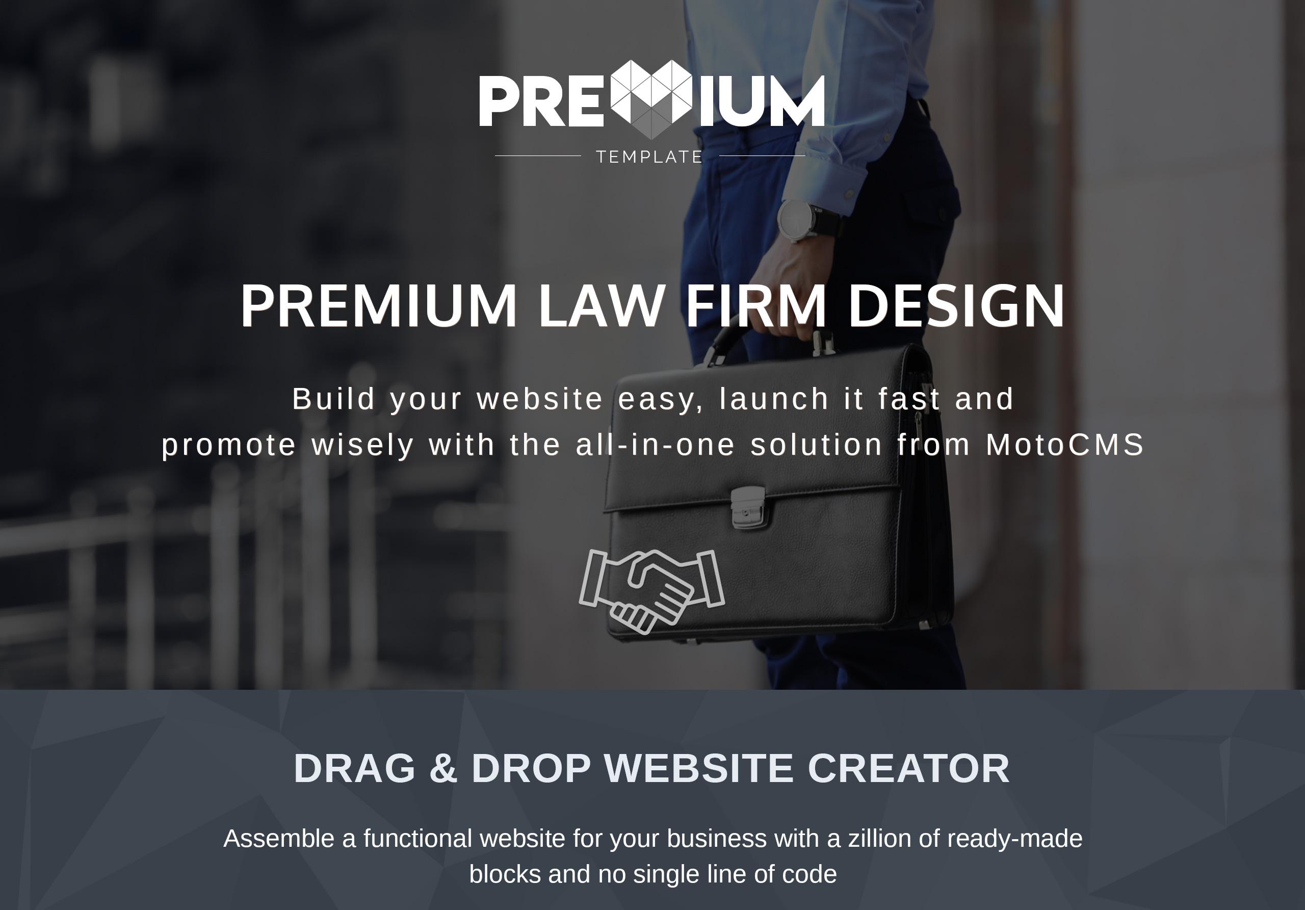 Cealissa - Lawyer & Attorney Premium Moto CMS 3 Template