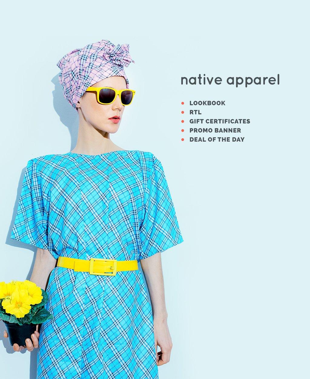 Адаптивный OpenCart шаблон №64165 на тему магазин одежды - скриншот