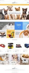 Адаптивный PrestaShop шаблон №64107 на тему магазин для животных New Screenshots BIG