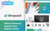 """Berguard - Office & Stationery Supplies"" thème Magento  New Screenshots BIG"