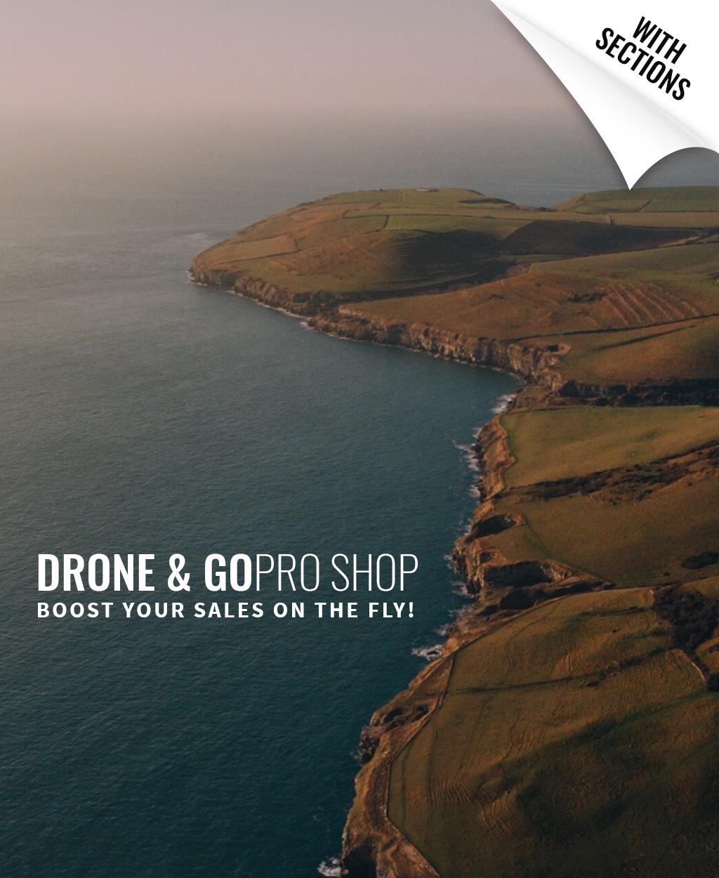 Drone Shop Shopify Theme - screenshot