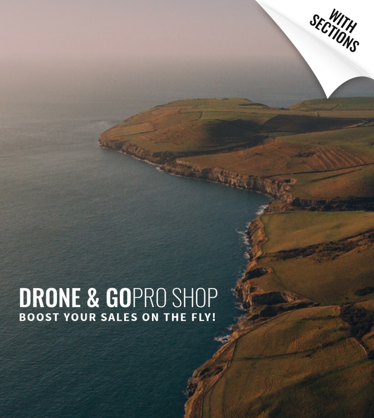 Drone Shop Shopify Theme