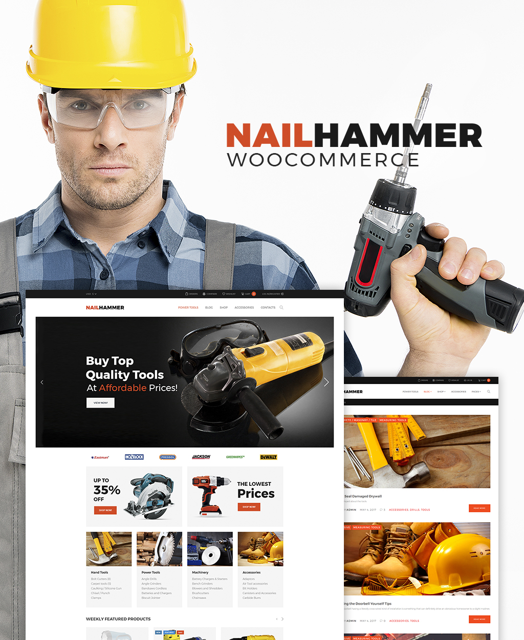 Equipment Market WooCommerce Theme WooCommerce Theme