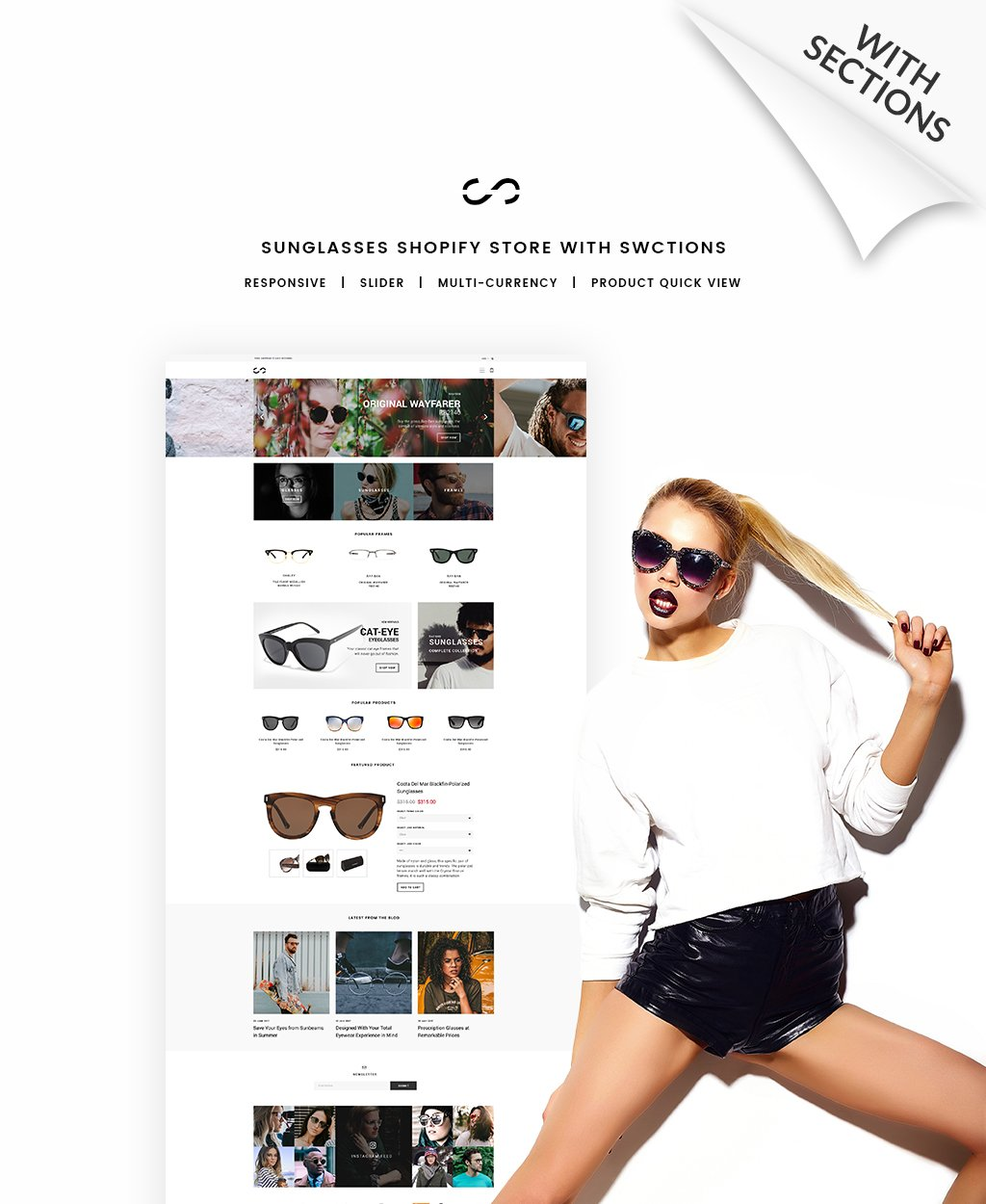 Fashion & Beauty Responsive Shopify Theme - screenshot