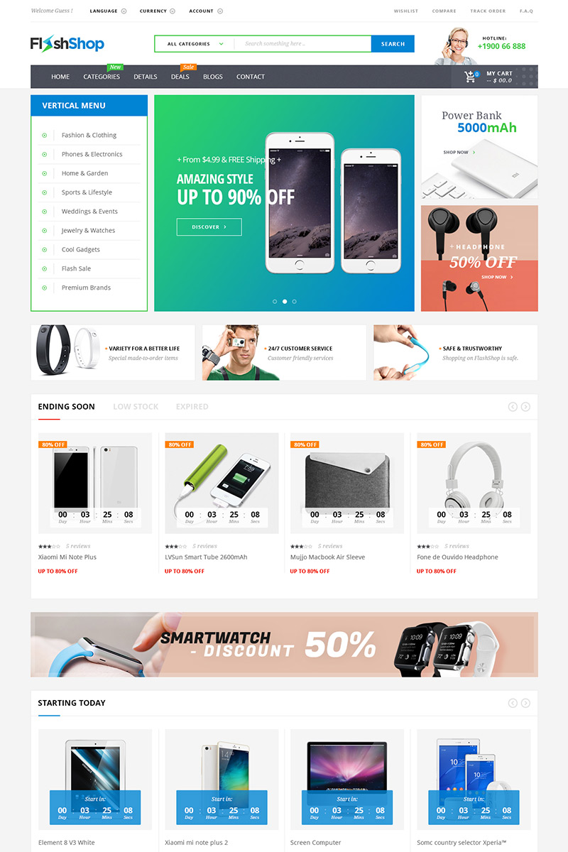 Flashshop multipurpose premium wordpress theme for Convert html template to wordpress theme online