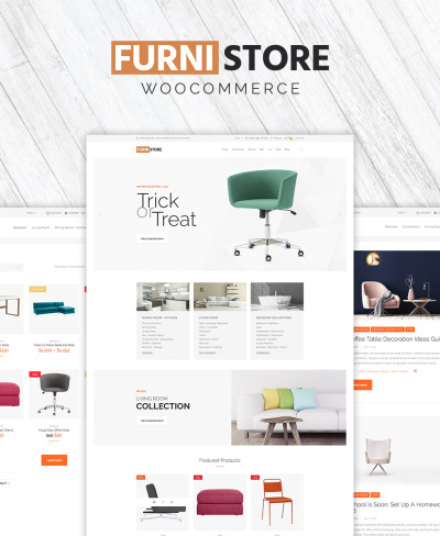 Furnistore - Furniture Store WooCommerce Theme