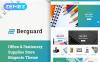 "Magento Theme namens ""Berguard - Office & Stationery Supplies"" New Screenshots BIG"