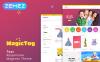 """""""MagicToy - Jouets pour bébés"""" thème Magento  New Screenshots BIG"""