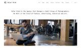 Plantilla Web para Sitio de Galerías de fotografía