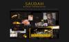 PowerPoint Template - Saudah Elegant Presentation PowerPoint Template Big Screenshot