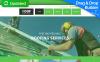 Responzivní Moto CMS 3 šablona na téma Pokrývačská firma New Screenshots BIG