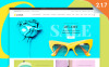 Reszponzív Kiegészítők témakörű  Magento sablon New Screenshots BIG