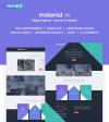 Reszponzív Reklámügynökségi  Joomla sablon New Screenshots BIG