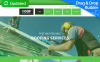 Reszponzív Tetőfedő cégek témakörű  Moto CMS 3 sablon New Screenshots BIG