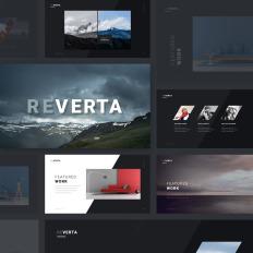 Architecture Portfolio Powerpoint Templates - Template Monster
