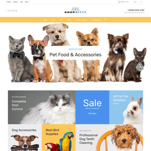 ShopKitty - PrestaShop Template based on Bootstrap