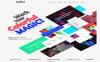 """Spellbind - Designer Landing Page Wordpress Theme"" Responsive WordPress thema New Screenshots BIG"