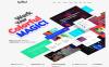 Spellbind - Tasarımcı Açılış Sayfası Wordpress Teması New Screenshots BIG