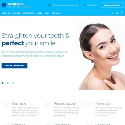 Tema de WordPress #51357 para Sitio de Odontología