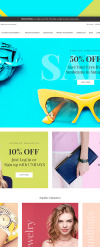 Tema Magento Responsive #64134 per Un Sito di Accessori New Screenshots BIG