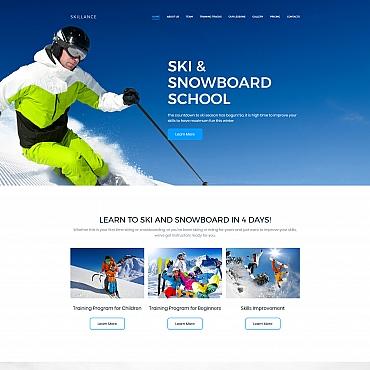 Preview image of Ski & Snowboard School Premium