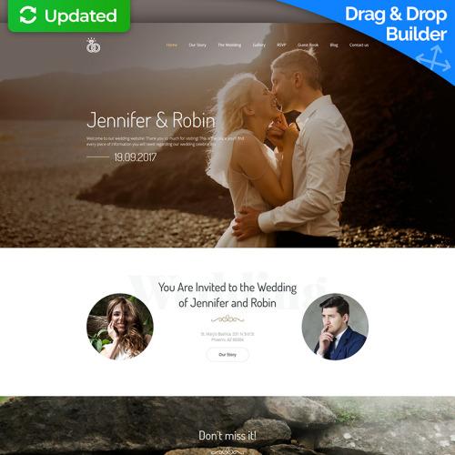 Jennifer & Robin - MotoCMS 3 Template based on Bootstrap