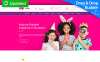 """Kiddy - Kids Center & Kindergarten Premium"" - адаптивний MotoCMS 3 шаблон New Screenshots BIG"