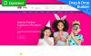 """Kiddy - Kids Center & Kindergarten Premium"" modèle Moto CMS 3 adaptatif New Screenshots BIG"