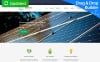 Responzivní Moto CMS 3 šablona na téma Sluneční energie New Screenshots BIG